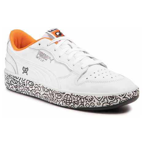 Sneakersy PUMA - Sky Lx Low Mr Doodle 374211 01 Puma White/Puma Black