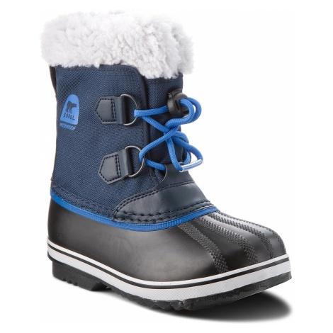 Śniegowce SOREL - Childrens Yoot Pac Nylon NC1879 Collegiate Navy/Super Blue 465