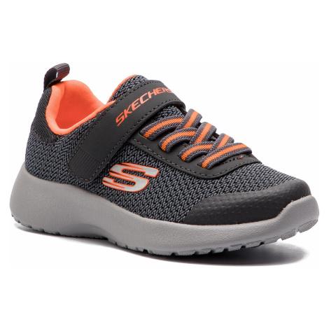 Buty SKECHERS - Ultra Torque 97770L/CCOR Charcoal/Orange