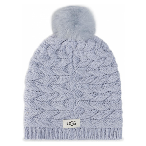 Czapka UGG - Cable Hat With Pom 18756 Fha