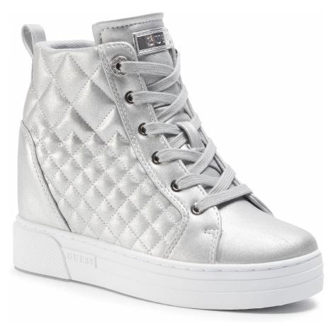 Sneakersy GUESS - Fase FL7FAE LEL12 SILVE