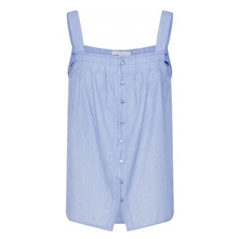 ESPRIT Bluzka 'New YD' jasnoniebieski / biały