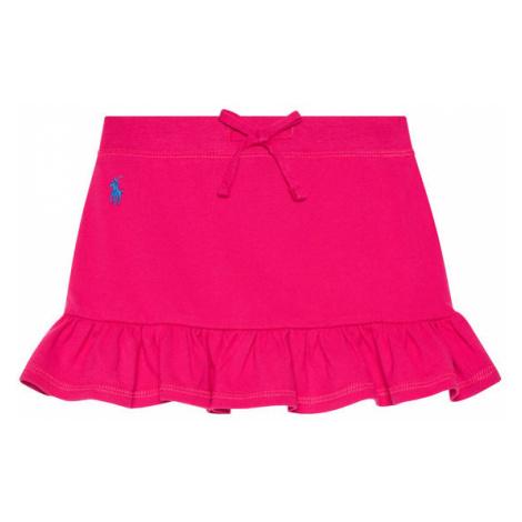 Polo Ralph Lauren Spódnica Mesh Scooter 312837115001 Różowy Regular Fit
