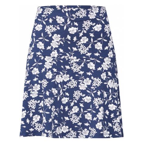 ESPRIT Spódnica 'EOS Skirt' granatowy / biały