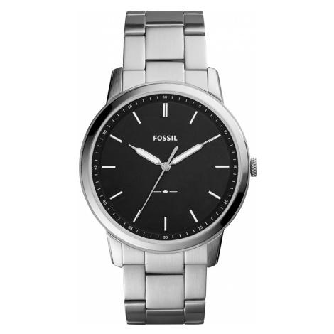 Zegarek FOSSIL - The Minimalist 3H FS5307 Silver/Black