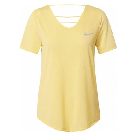 NIKE Koszulka funkcyjna żółty