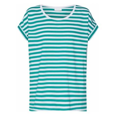 VILA Koszulka 'Dreamers' zielony / biały