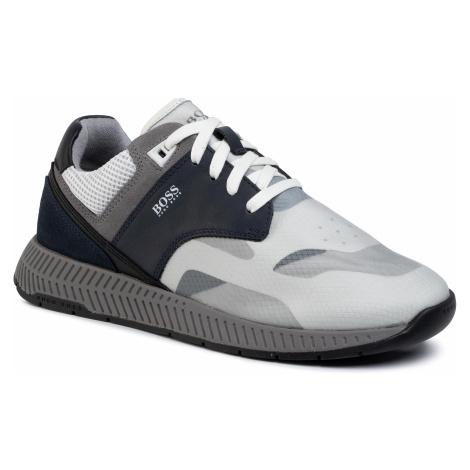 Sneakersy BOSS - Titanium 50422396 10214595 01 Open Blue 460 Hugo Boss