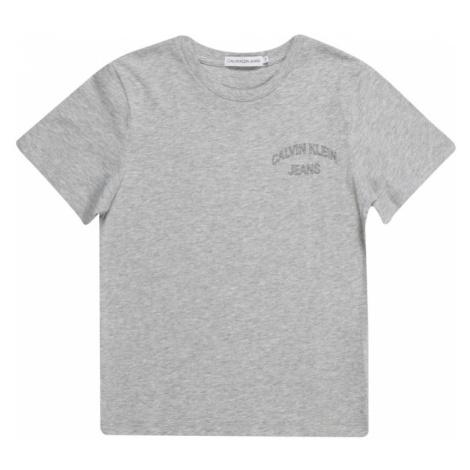 Calvin Klein Jeans Koszulka nakrapiany szary
