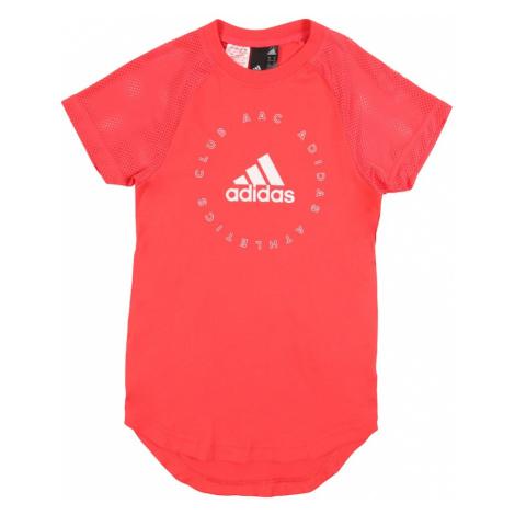 ADIDAS PERFORMANCE Sportowa sukienka pomarańczowy / czerwony