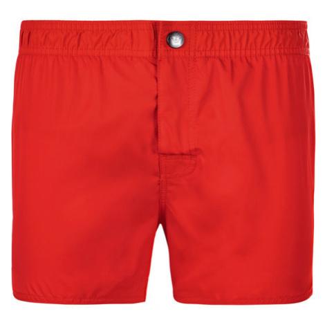 Emporio Armani Szorty kąpielowe 211742 9P420 00074 Czerwony Regular Fit