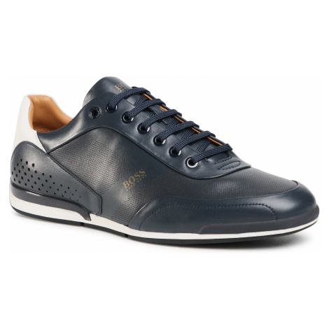 Sneakersy BOSS - Saturn 50439394 10230186 01 Dark Blue 401 Hugo Boss