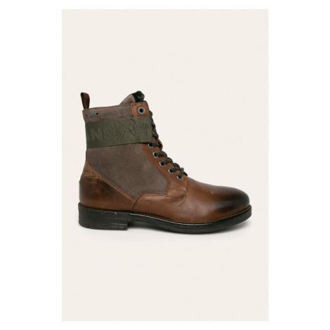 Pepe Jeans - Buty wysokie Tom Cut Mix Rugged