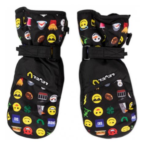 Level Rękawice narciarskie Glove Junior 4152JM.53 Czarny