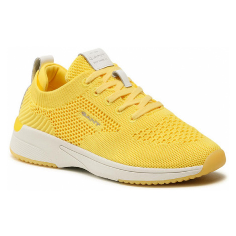 Gant Sneakersy Delyn 22538597 Żółty