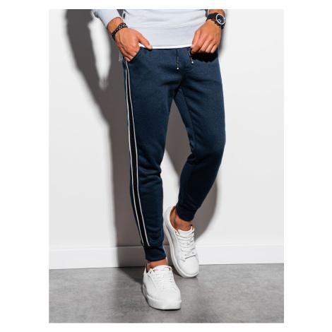 Spodnie dresowe męskie Ombre P898