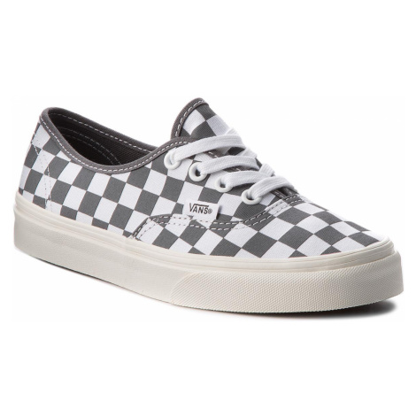 Tenisówki VANS - Authentic VN0A38EMU531 (Checkerboard) Pewter/Mar