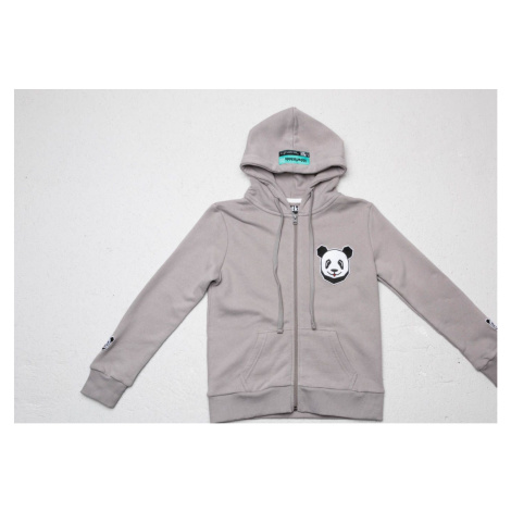 LoowFAT KIDS Zip Hoodie Grey