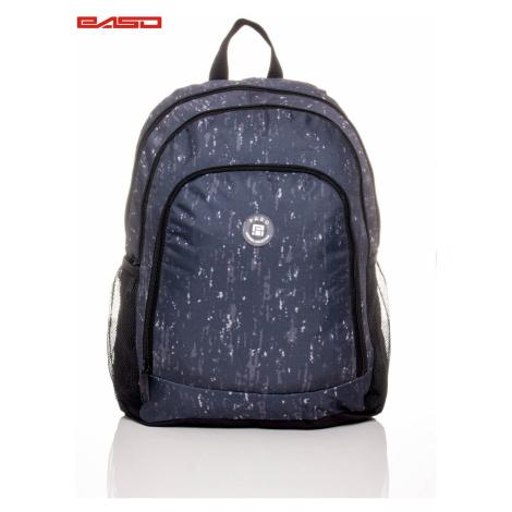 Plecak szkolny chłopców w delikatnym wzorze