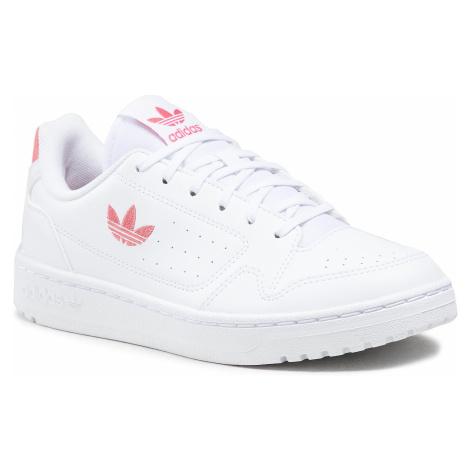 Buty adidas - Ny 90 J FX6473 Ftwwht/Hazros/Ftwwht