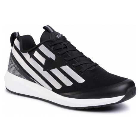 Sneakersy EA7 EMPORIO ARMANI - X8X031 XK054 N629 Black/Silver