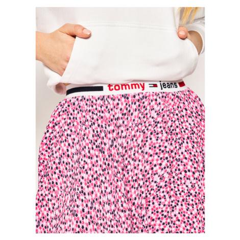 Tommy Jeans Spódnica mini Printed DW0DW08344 Różowy Regular Fit Tommy Hilfiger