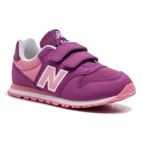 Sneakersy NEW BALANCE - YV500YP Fioletowy