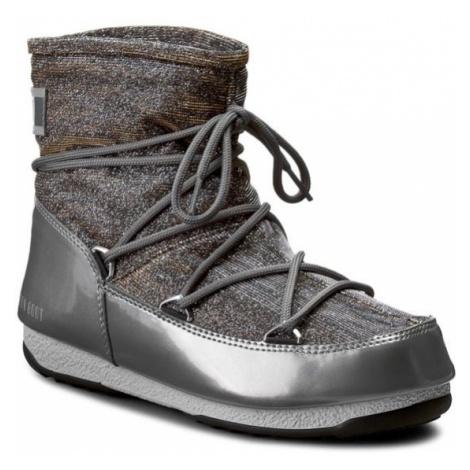 Moon Boot Śniegowce Low Lurex 24005600002 Srebrny