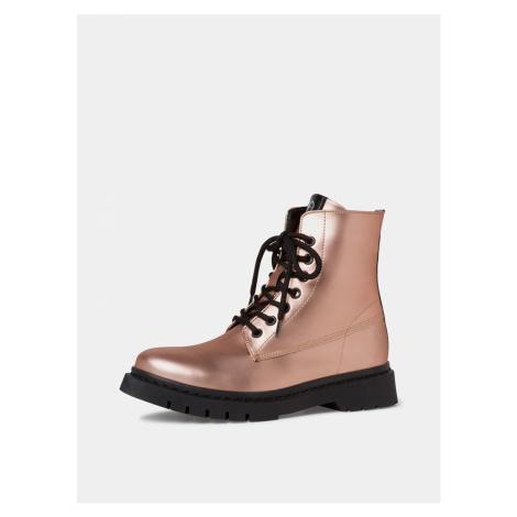 Tamaris różowy botki buty
