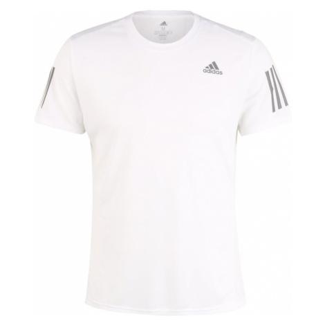 ADIDAS PERFORMANCE Koszulka funkcyjna biały / ciemnoszary