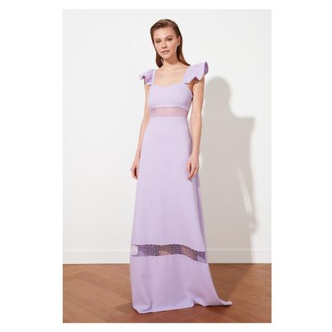 Trendyol Lilac Waist Detail Suknia wieczorowa & Sukienka dyplomowa