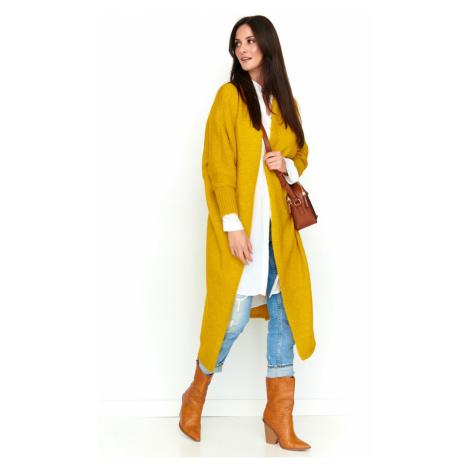 Numinou Woman's Sweater Nu S61 Mustard