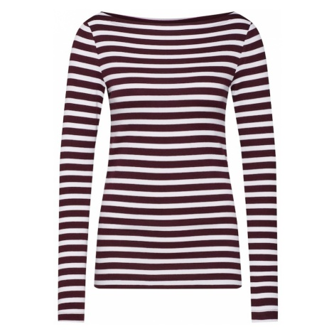 GAP Koszulka burgund / biały