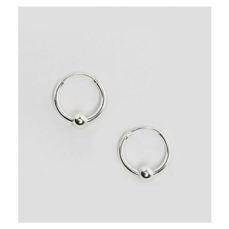 Kingsley Ryan Sterling Silver Mini Ball Hoop Earrings