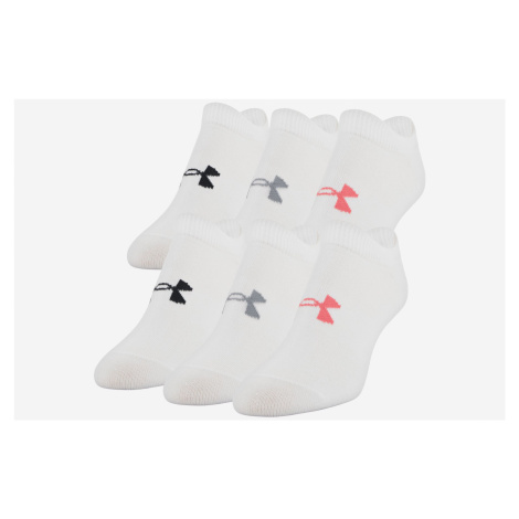 Under Armour Essential 6-pack Skarpetki Biały
