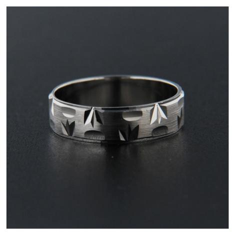 Pierścionek srebrny 13848