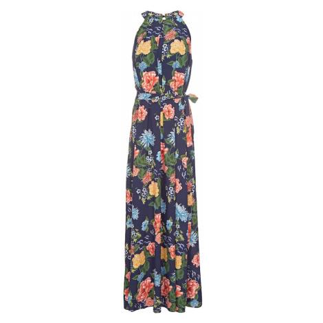 Mela London Letnia sukienka 'FLORAL' granatowy