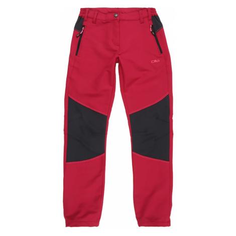 CMP Spodnie outdoor purpurowy / czarny