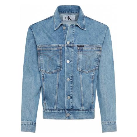 Calvin Klein Jeans Kurtka przejściowa niebieski denim
