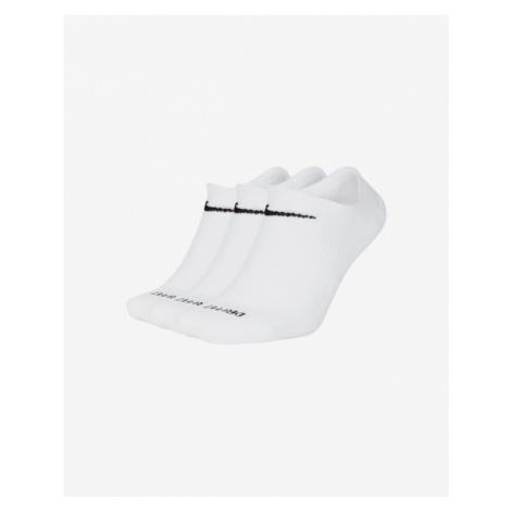 Nike Every Plus Cush 3-pack Skarpetki Biały