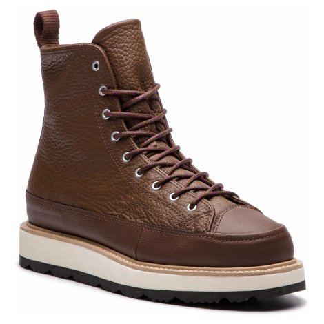 Kozaki CONVERSE - Ct Crafted Boot Hi 162354C Chocolate/Light Fawn/Black