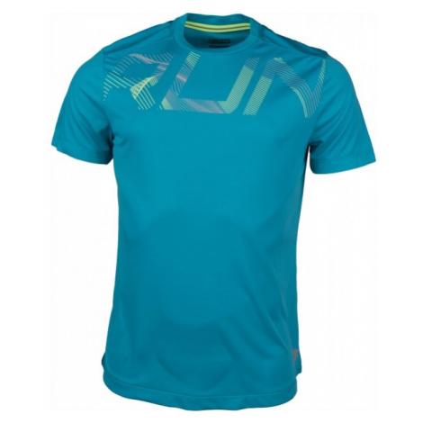 Lotto X RIDE III TEE RUN niebieski M - Koszulka sportowa męska