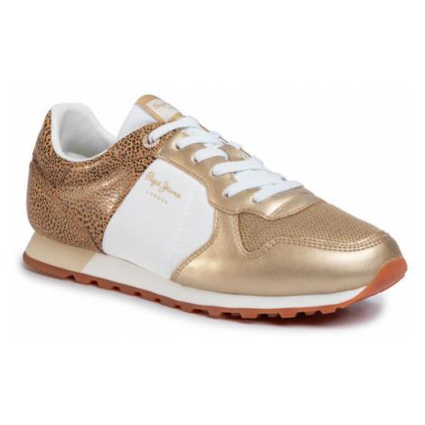 Pepe Jeans Sneakersy Verona W Set PLS30982 Złoty