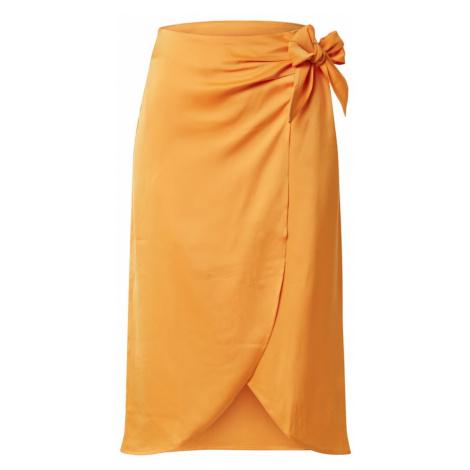 Y.A.S Spódnica 'CADMI' złoty żółty