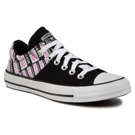 Trampki CONVERSE - Ctas Madison Ox 567021C Black/Peony Pink/White