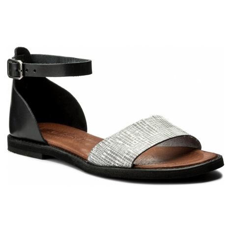 Sandały NESSI - 18382 Czarny/Szary St