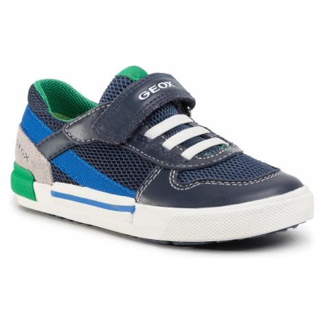Sneakersy GEOX - B Kilwi B. A B02A7A 08514 C0700 S Navy/Avio