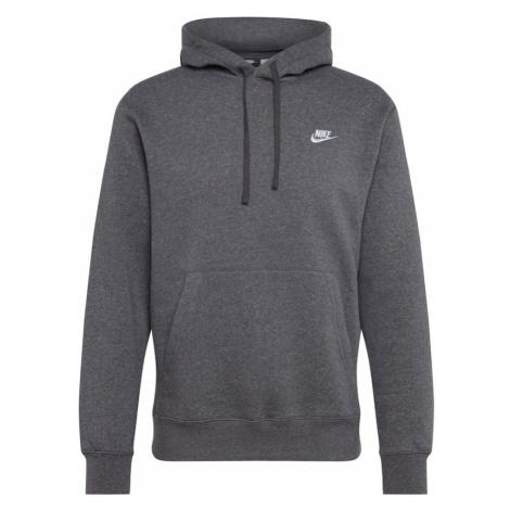 Nike Sportswear Bluzka sportowa 'Club' ciemnoszary
