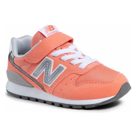 New Balance Sneakersy YV996CCP Pomarańczowy