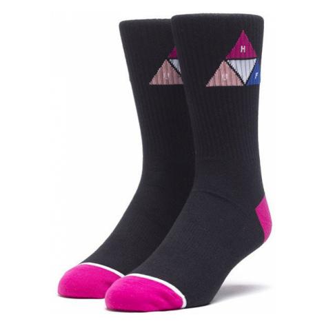 Skarpetki HUF Prism Triangle Sock SK00426 BLACK